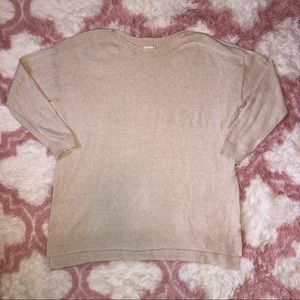 Old Navy Cream Sweater